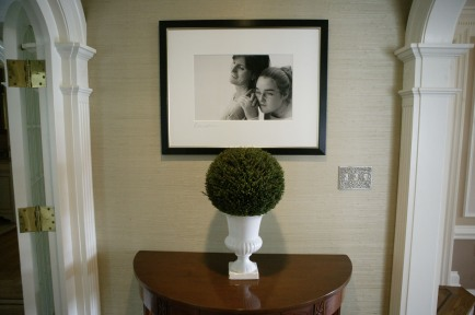 Larrabee, Portrait Photographer, Alcove to Dining Room, Layout, Installation, Black & White Photography