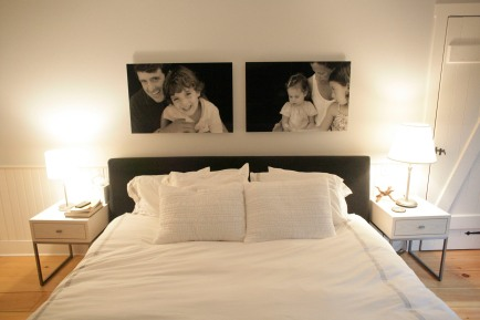 Larrabee, Portrait Photographer, Bedroom, Layout, Installation, Black & White Photography